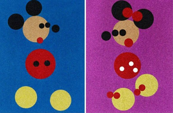 art damien-hirst-mickey-minnie