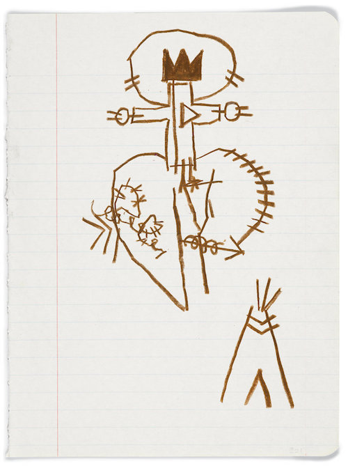 basquiat notebook2