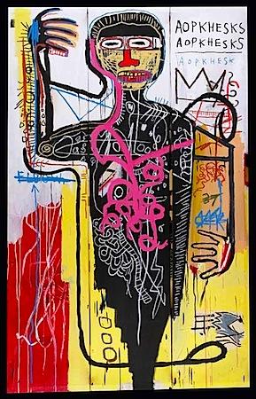 basquiat versus medici 1982