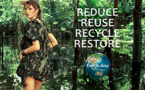 earth day gisele