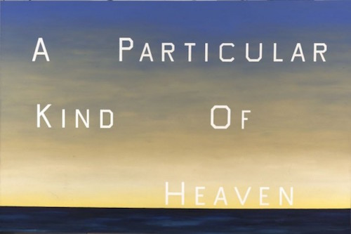 ed ruscha a particular kind of heaven