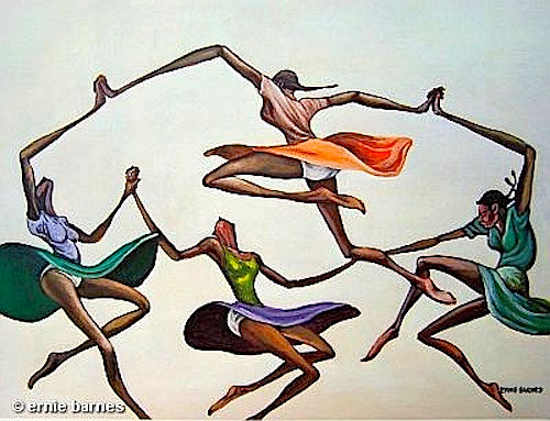 ernie barnes ring around