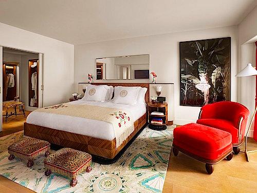 faena hotel bedroom