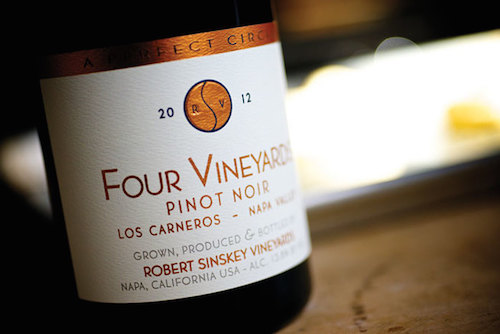 four vineyards pinot noir