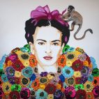 Frida and The Monkey