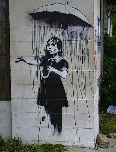 graffiti banksy