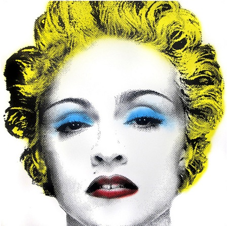 graffiti mr brainwash madonna