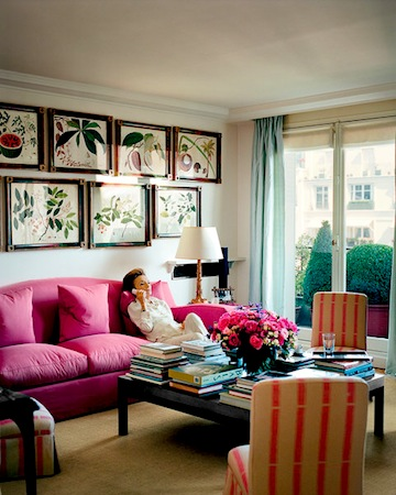 At Home with Lee Radziwill
