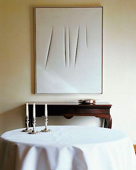 Lucio Fontana in Decor