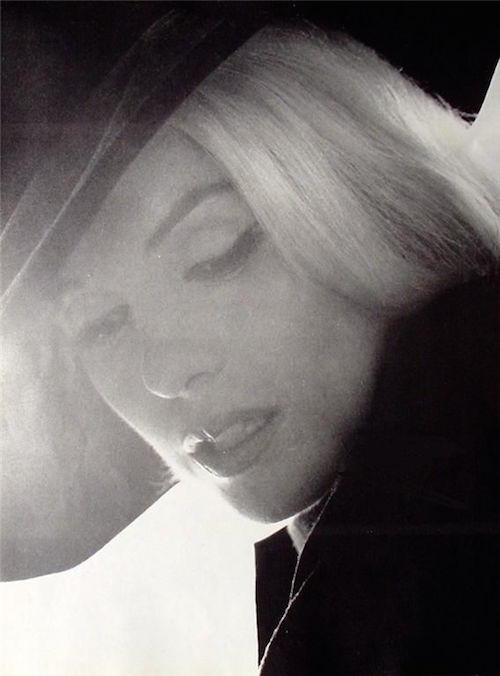 marilyn monroe black hat