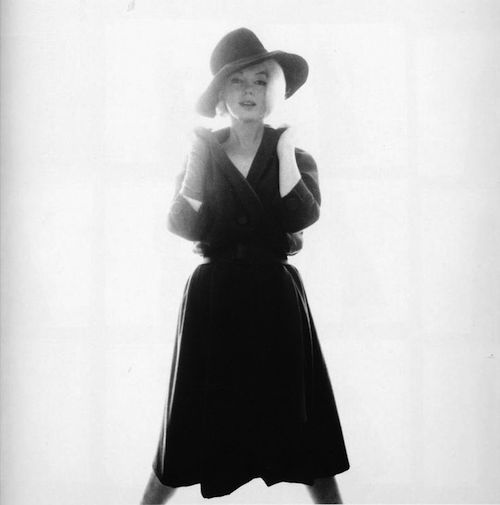 marilyn monroe black hat3