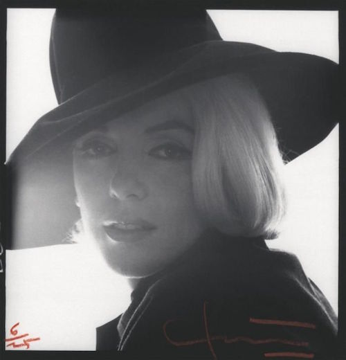 marilyn monroe black hat4