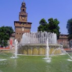 In Milan: Castello Sforzesco
