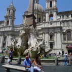 In Rome: Piazza Navona
