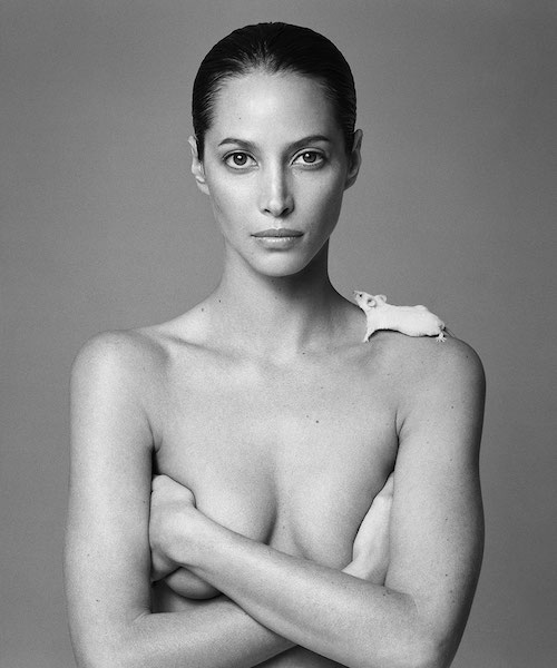 patrick demarchelier christy turlington 1999
