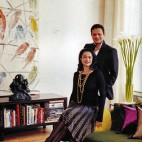 At Home with Ranjana and Naeem Khan