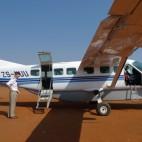 <B>On Safari:</B> Pilot Joe