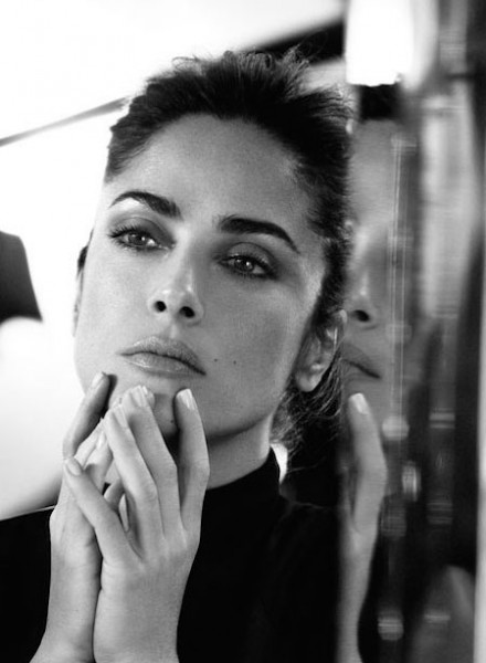 Salma Hayek in The Edit
