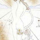 Nude with Garter, 1969