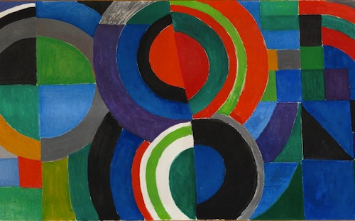 sonia delaunay rythme couleur 1964