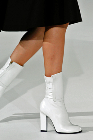 At Jil Sander| White Boot