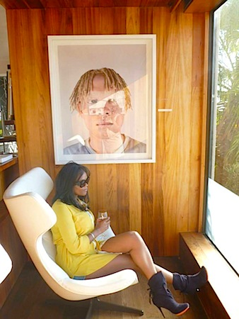 Thandie at Ellerman House