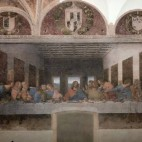 <B>In Milan:</B> The Last Supper