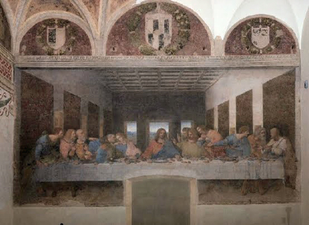 In Milan: The Last Supper