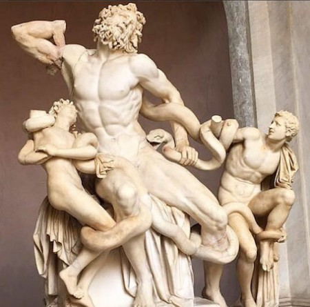 In Rome: Laocoon + His Sons