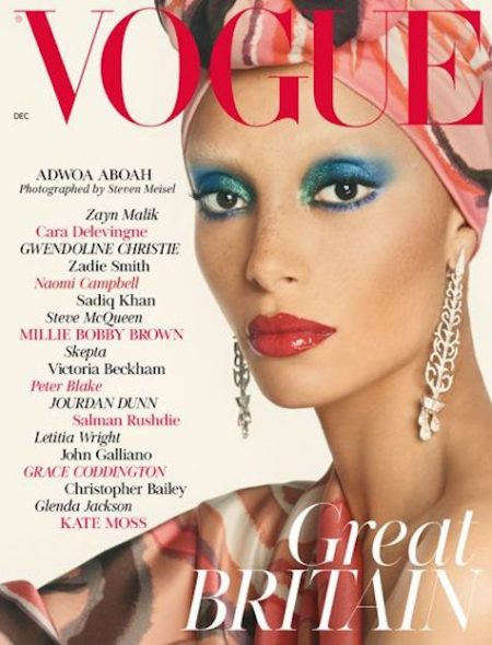 Adwoa Aboah for British Vogue