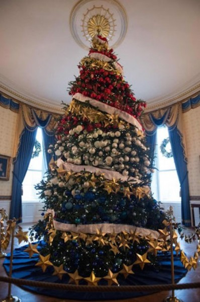 White House Christmas 2015