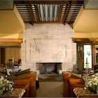 Hollyhock House in Los Angeles