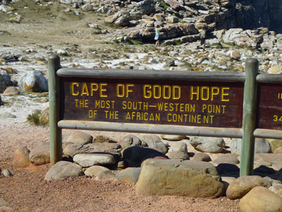 We made it to the tip of South Africa! Welcome to Cape of Good Hope!