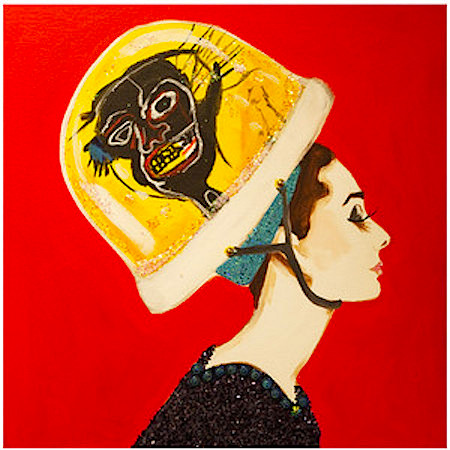 Basquiat Snow Globe Audrey