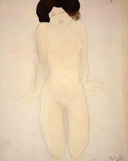 Auguste's Nude Girl