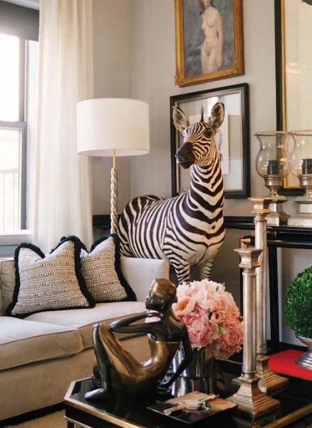 Zebra In The House!