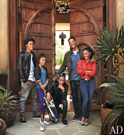 At Home with Will + Jada Smith