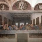 <B>In Milan:</B> The Last Supper